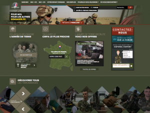 site recrutement Armée de Terre